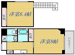 東京都葛飾区青戸1丁目の賃貸マンションの間取り