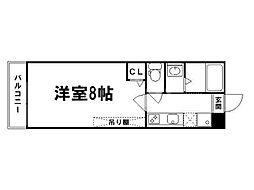アークリード京都千本[2階]の間取り