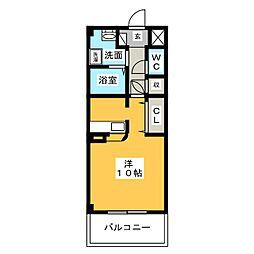 プチメゾン稲生[2階]の間取り