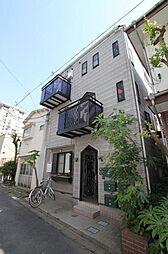 東京都港区白金5丁目の賃貸アパートの外観