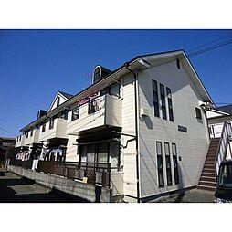 神奈川県横浜市港北区樽町4の賃貸アパートの外観