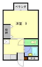 サープラスジュン[2階]の間取り