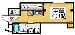 エヌエムディズユイット[3階]の間取り