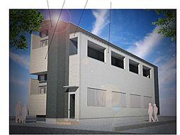 仮称)ハーモニーテラス大阪市旭区大宮四丁目・SKHコーポA号[2階]の外観