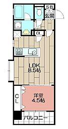 アクタス博多ステーションタワー(606)[606号室]の間取り
