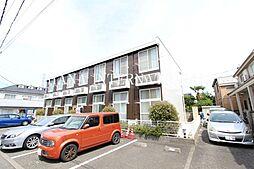 東京都調布市深大寺東町1丁目の賃貸アパートの外観