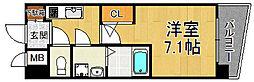 アーデン甲子園[9階]の間取り