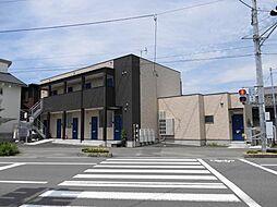愛媛県松山市古三津2丁目の賃貸アパートの外観