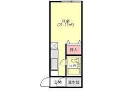 メゾン広宣[2階]の間取り