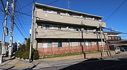 千葉県我孫子市下ケ戸の賃貸アパートの外観