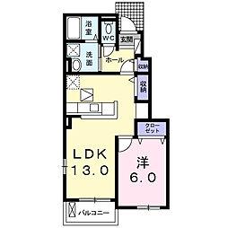 愛知県名古屋市南区要町3丁目の賃貸アパートの間取り