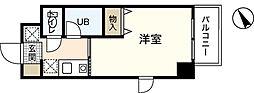 リバーサイド中村[2階]の間取り