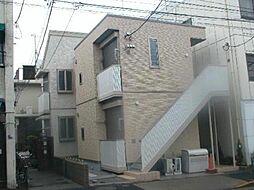 東京都台東区谷中1丁目の賃貸アパートの外観