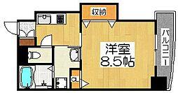 住吉橋TKハイツ[8階]の間取り