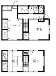 片山貸家[2階]の間取り
