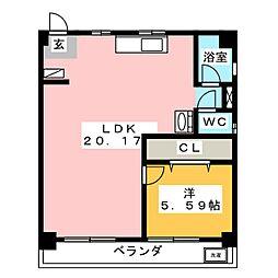 清住ビル[4階]の間取り
