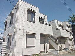 神奈川県茅ヶ崎市東海岸北4丁目の賃貸アパートの外観