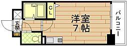 プレサンス京都清水[305号室]の間取り