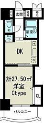 ノルデンハイム東三国[8階]の間取り