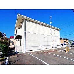 静岡県静岡市駿河区大谷1丁目の賃貸アパートの外観