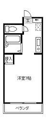 アビヤントキヨ[2階]の間取り