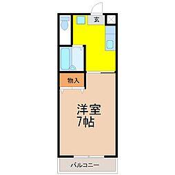 六名駅 3.8万円