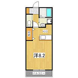 Apartment Anju[2階]の間取り