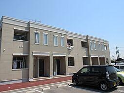 ハイツ江昭 A棟[2階]の外観