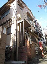 東京都中野区中央1丁目の賃貸アパートの外観