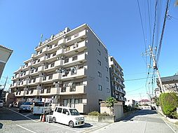 埼玉県越谷市東大沢3丁目の賃貸マンションの外観