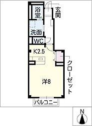 パークプラザ[1階]の間取り