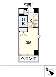 メゾン・ド・レジャンド 501号室[5階]の間取り