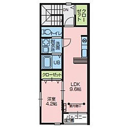 レガロRegaol[A202号室]の外観