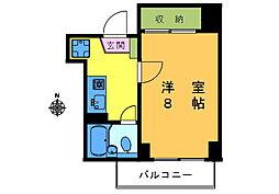 亀田ビル[301号室]の間取り