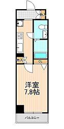 エルスタンザ浅草[8階]の間取り