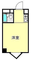 東京都板橋区板橋1丁目の賃貸マンションの間取り