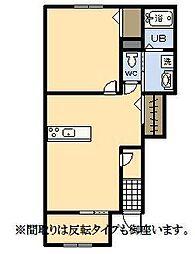 (新築)パーク・ハイム[102号室]の間取り