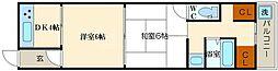 [一戸建] 大阪府大阪市西成区千本北2丁目 の賃貸【大阪府 / 大阪市西成区】の間取り