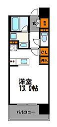 Ten Good 渡辺通(テングッド渡辺通)[10階]の間取り