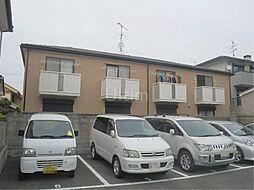 京都府京都市伏見区深草中ノ島町の賃貸アパートの外観