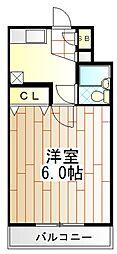 東京都町田市中町2丁目の賃貸マンションの間取り