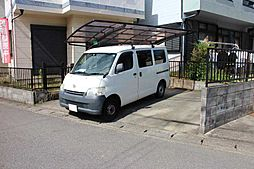 車2台を駐車可能です。