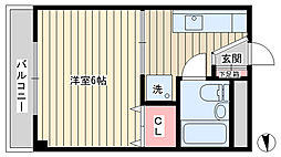 西小山駅 6.0万円