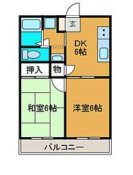 MTMハウス[2階]の間取り