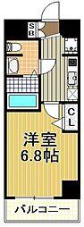 カインド四貫島[4階]の間取り