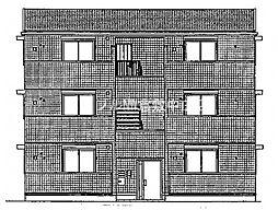 (仮)D−room白石西新町A棟[2階]の外観