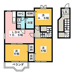 フローレンススクエア[2階]の間取り