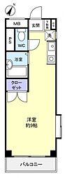 オーパス21[3階]の間取り