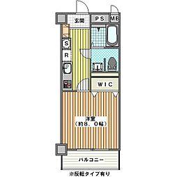 ウェスティンリゾート[2階]の間取り