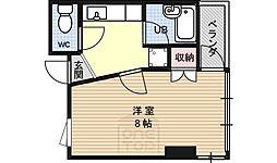 グレースU[4階]の間取り